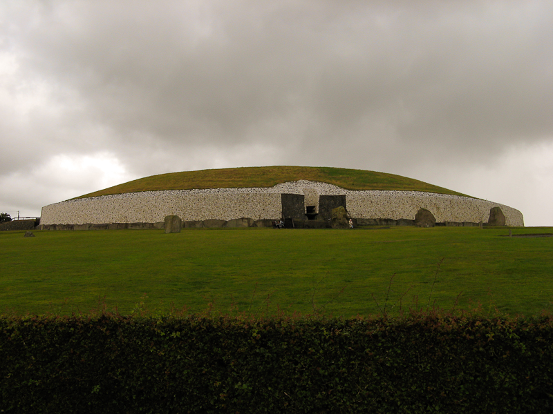 Newgrange in Ireland.