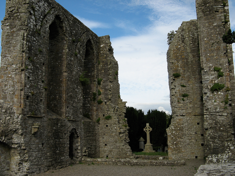 Celtic ruins in Trim, Ireland.