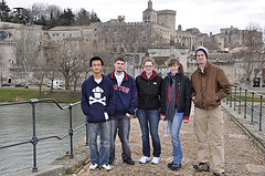 Hanging out in Avignon, France.
