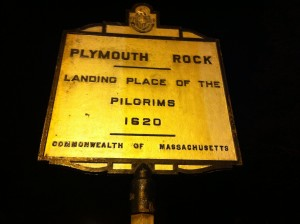 Plymouth Rock in MA.