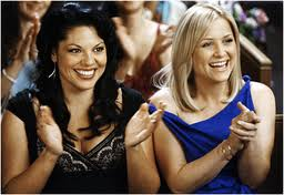 "Callie and Arizona from ""Grey's Anatomy"""
