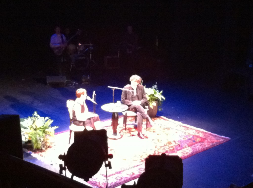 Neil Gaiman at the Portsmouth Music Hall in NH.