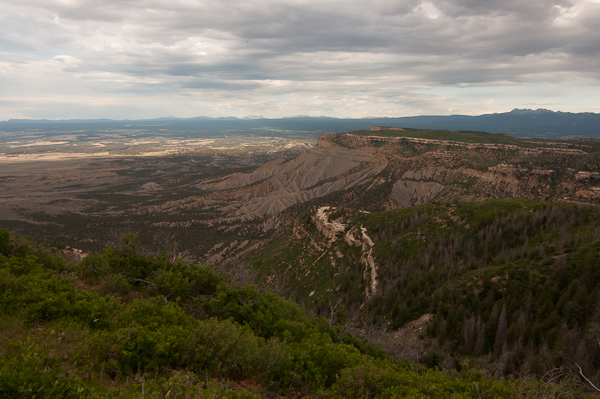 The view from the fire tower at Mesa Verde National Park.