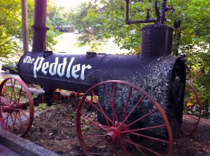 The Peddler's old smoker