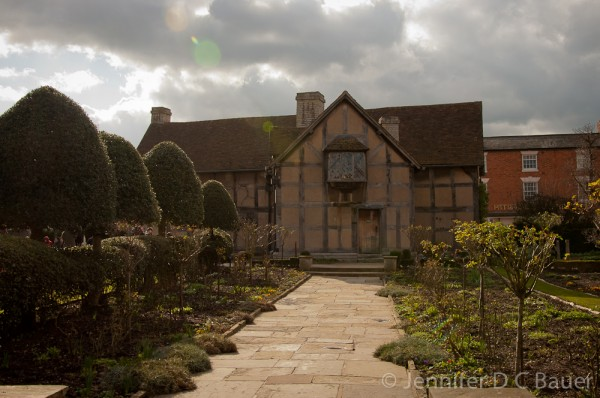 William Shakespeare's birthplace.
