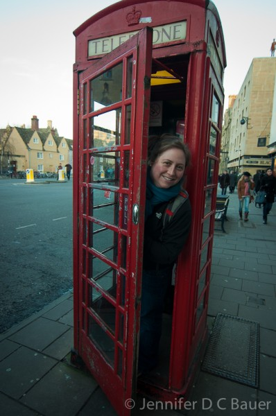 Kendra in Oxford, England