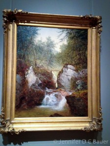 Bish-Bash Falls, Massachusetts (1855) by John Frederick Kensett