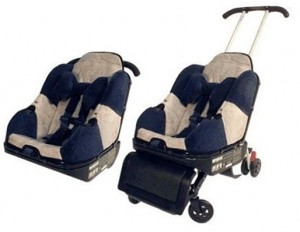 Lilly Gold Sit 'N' Stroll 5 in 1 Car Seat & Stroller Combination