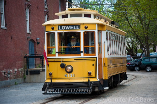 Lowell National Historical Park - Trolley Ride