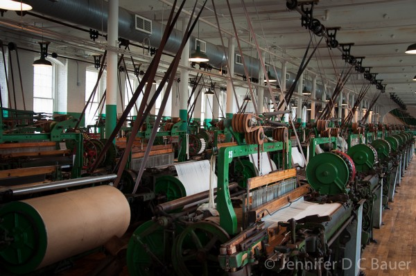 Lowell National Historical Park - Textile Mill