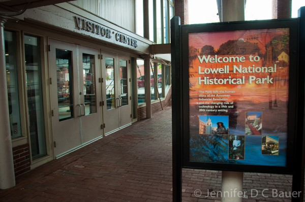 Lowell National Historical Park - Visitor's Center