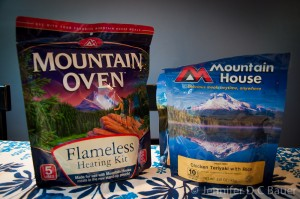 Mountain House's Mountain Oven Flameless Heating Kit.