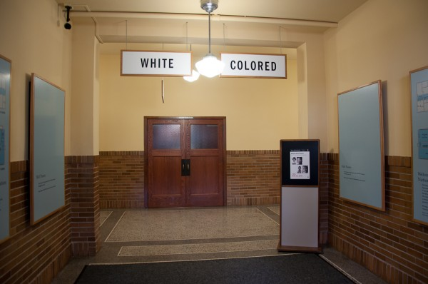 Facing history at the Brown v. Board of Education National Historic Site.