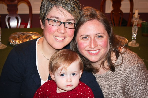 Mama, Mommy, and Addison