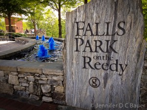 Fall Park on the Reedy River in Greenville, S.C.