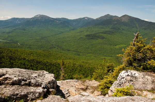 The Presidential Range as seen from the Imp Face.