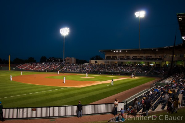 Fluor Field, home of the Greenville Drive in South Carolina.
