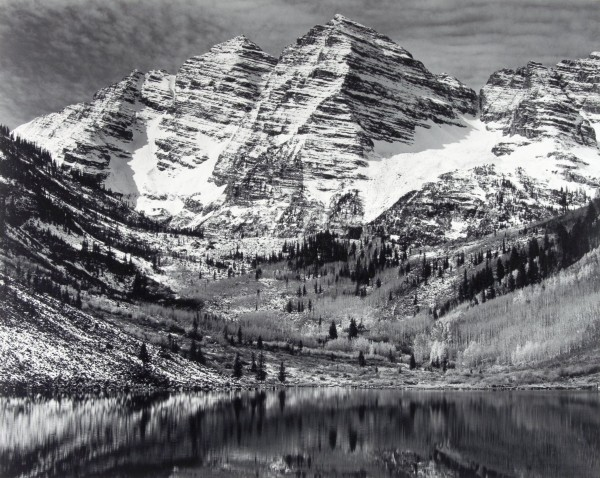Ansel-Adams_Maroon-Bells-Near-Aspen-Colorado
