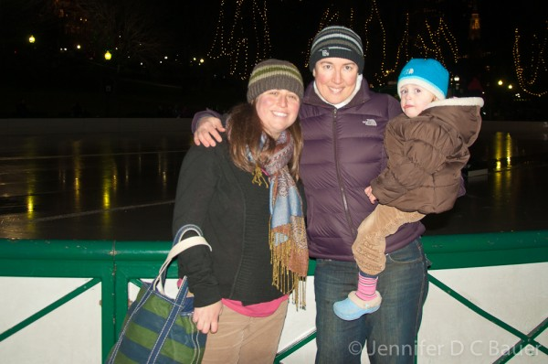 At the Frog Pond in Boston, MA.
