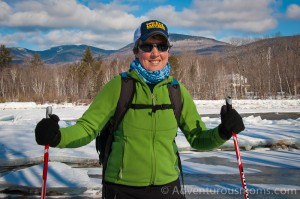 x-country skiing at Bear Notch in New Hampshire.