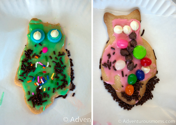 Grace and Addie's Owl Cookies