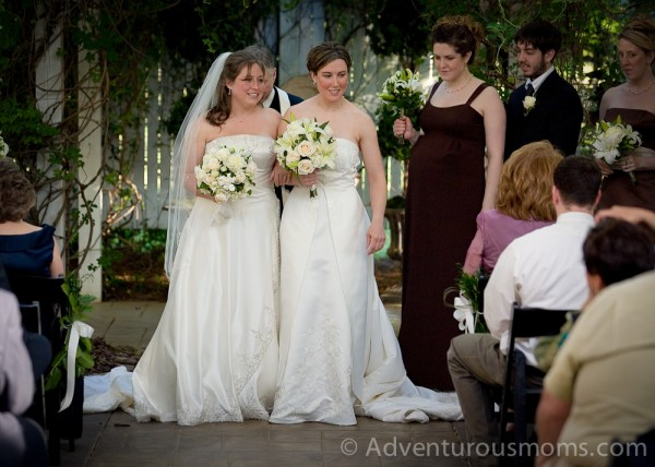 Our same-sex wedding