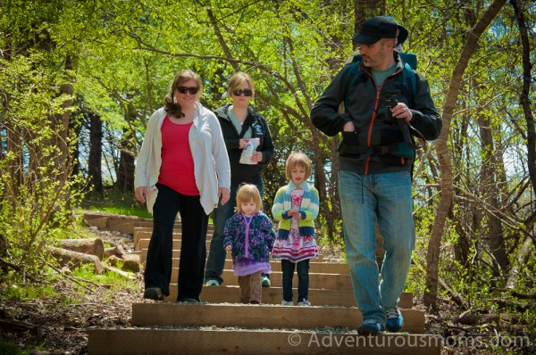 Hiking at the Ipswich River Wildlife Sanctuary