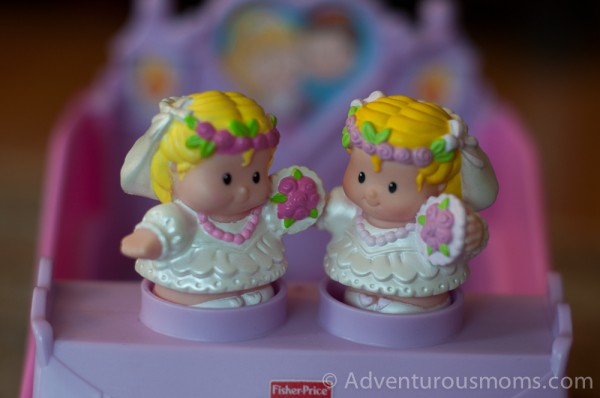 Addie's Fisher Price Little People Brides