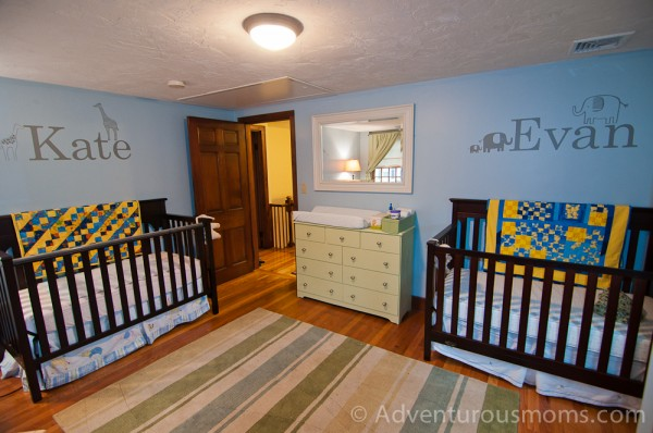 The twins' room!