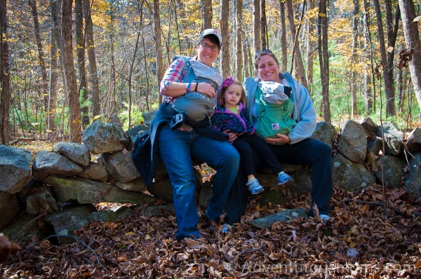 Hiking Woodchuck Hill in North Andover, MA