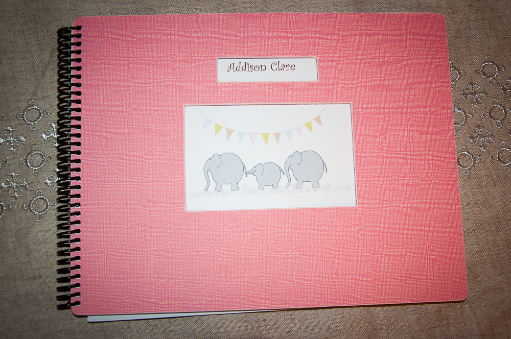 Addison's Love Leaf Baby Book