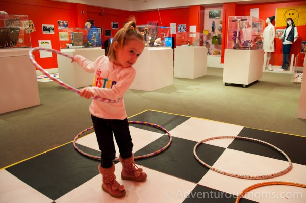 Hula Hooping at the Wenham Museum