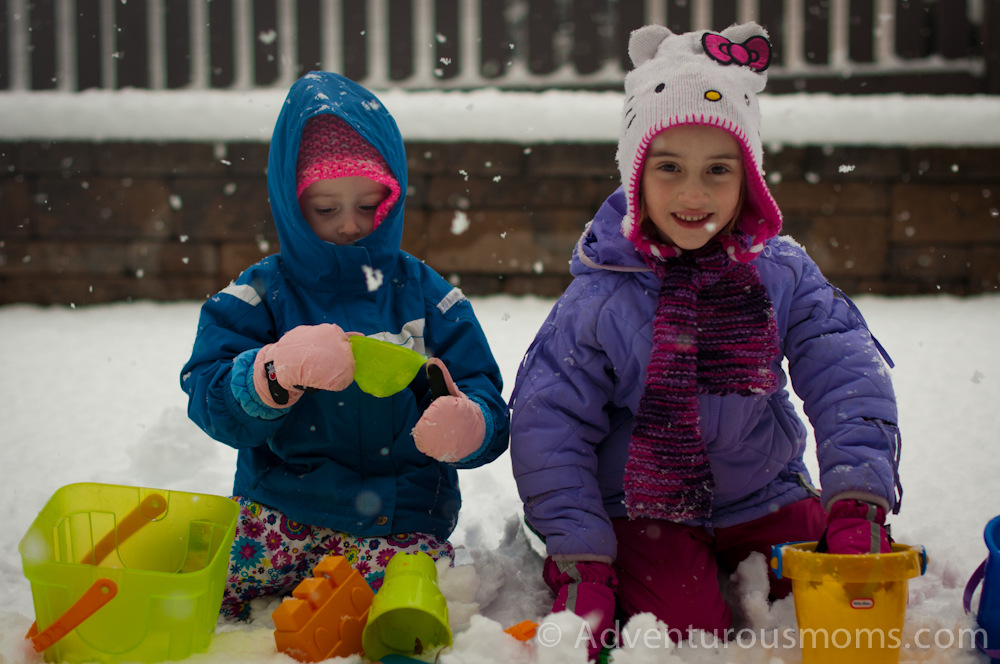 Building snow castles 7 Awesome Snow Activities