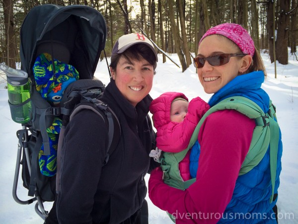 Snowshoeing in the Lowell-Dracut-Tyngsborough State Forest