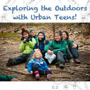 exploring the outdoors with urban teens