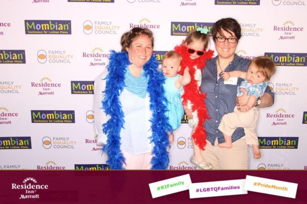 Celebrating LGBTQfamilies with Mombian, Residence Inn, and the Family Equality Council