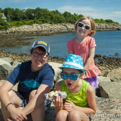 Summer fun in Maine