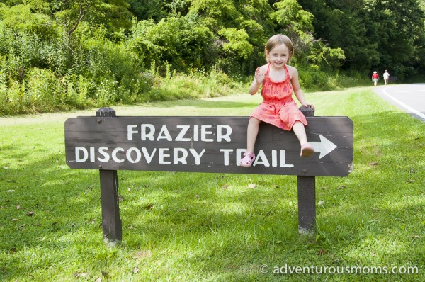 Frazier Discovery Trail in Shenandoah National Park, Virginia