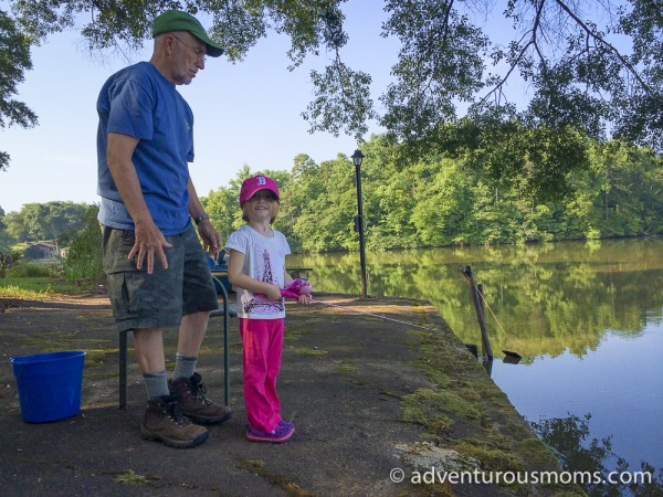 Fishing on the Saluda River