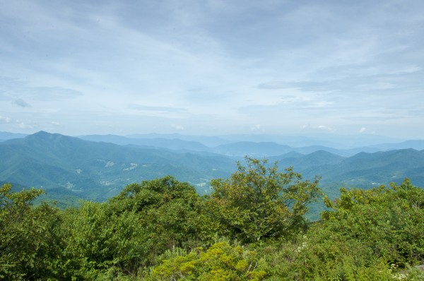 Hiking Mt. Pisgah in NC