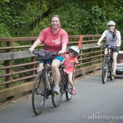 Biking the Swamp Rabbit Trail in Greenville, SC