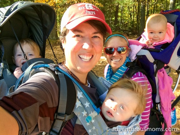 Hiking Solo With Toddler Twins