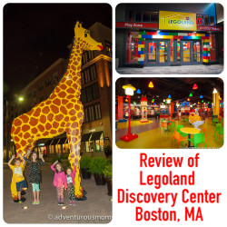 Review of Legoland Discovery Center in Boston, MA