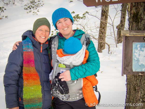 Snowshoeing in Leominster State Forest