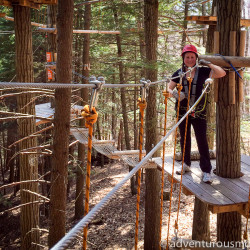 Family Adventure in Ramblewild's Aerial Park