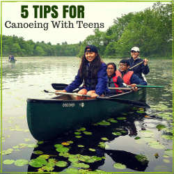 5 Tips for Canoeing With Teens
