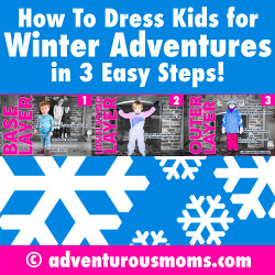 How to Dress Kids for Winter Adventures