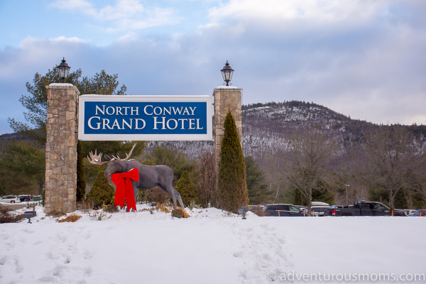 The North Conway Grand Hotel in North Conway, New Hampshire