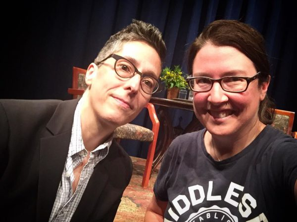 Me with Alison Bechdel