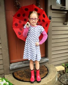 Addie's first day of 1st grade
